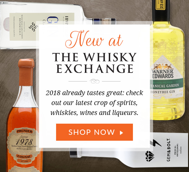 New at The Whisky Exchange 2018 already tastes great: check out our latest crop of whiskies, spirits, wines and liqueurs.